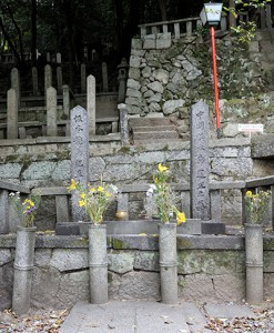 勇者たちの墓石