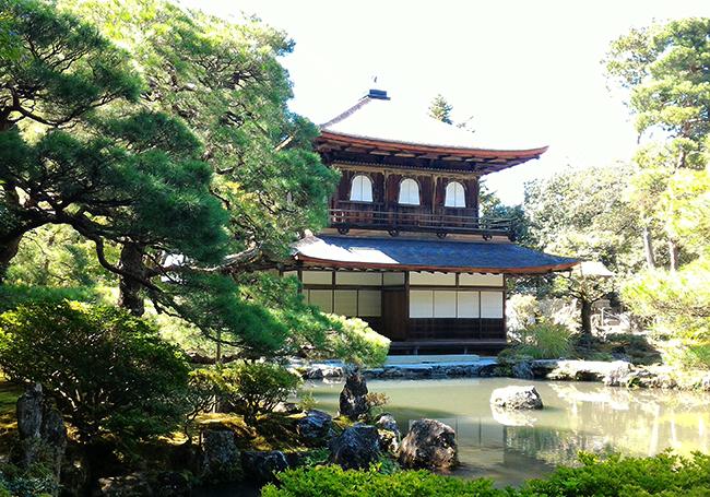 私の京都散策「銀閣寺、哲学の道」