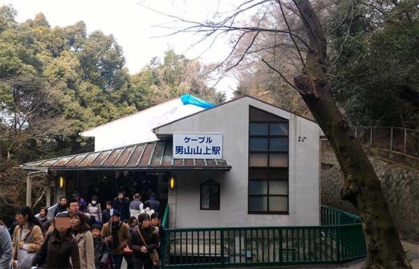 男山山頂駅