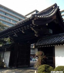 旧京都守護職屋敷正門