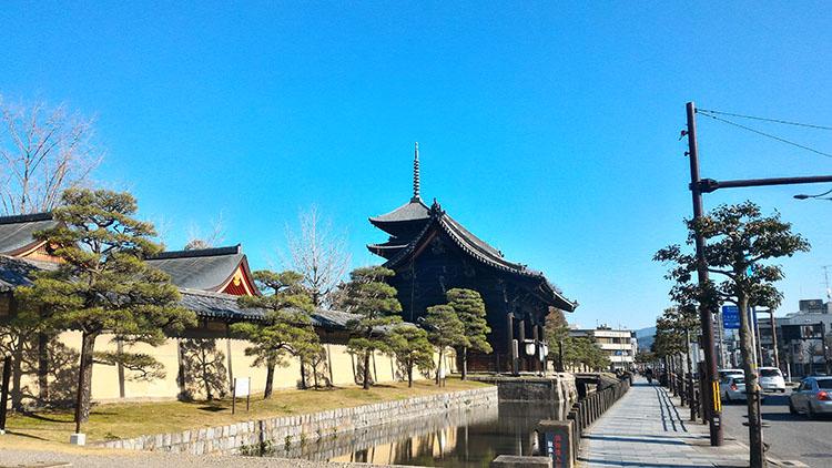 私の京都散策、真言密教の寺院「東寺」「智積院」「泉涌寺」を訪ねて