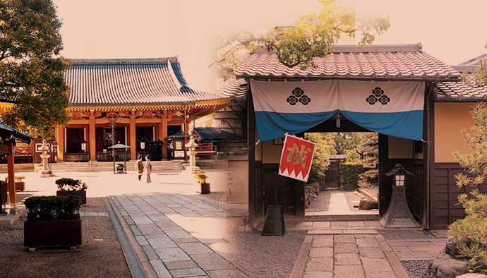 私の京都散策「壬生の新徳禅寺、前川邸、八木邸、不動堂の新選組壬生屯所めぐり」