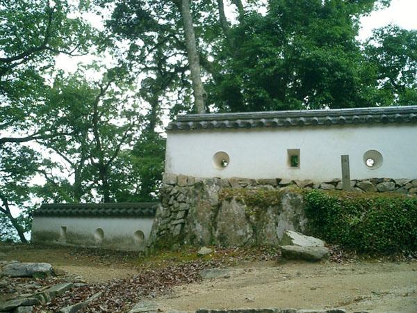 平櫓東土塀